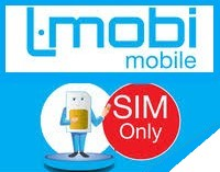 Sim Only Prepaid  L.Mobi Simkaart  €9.98