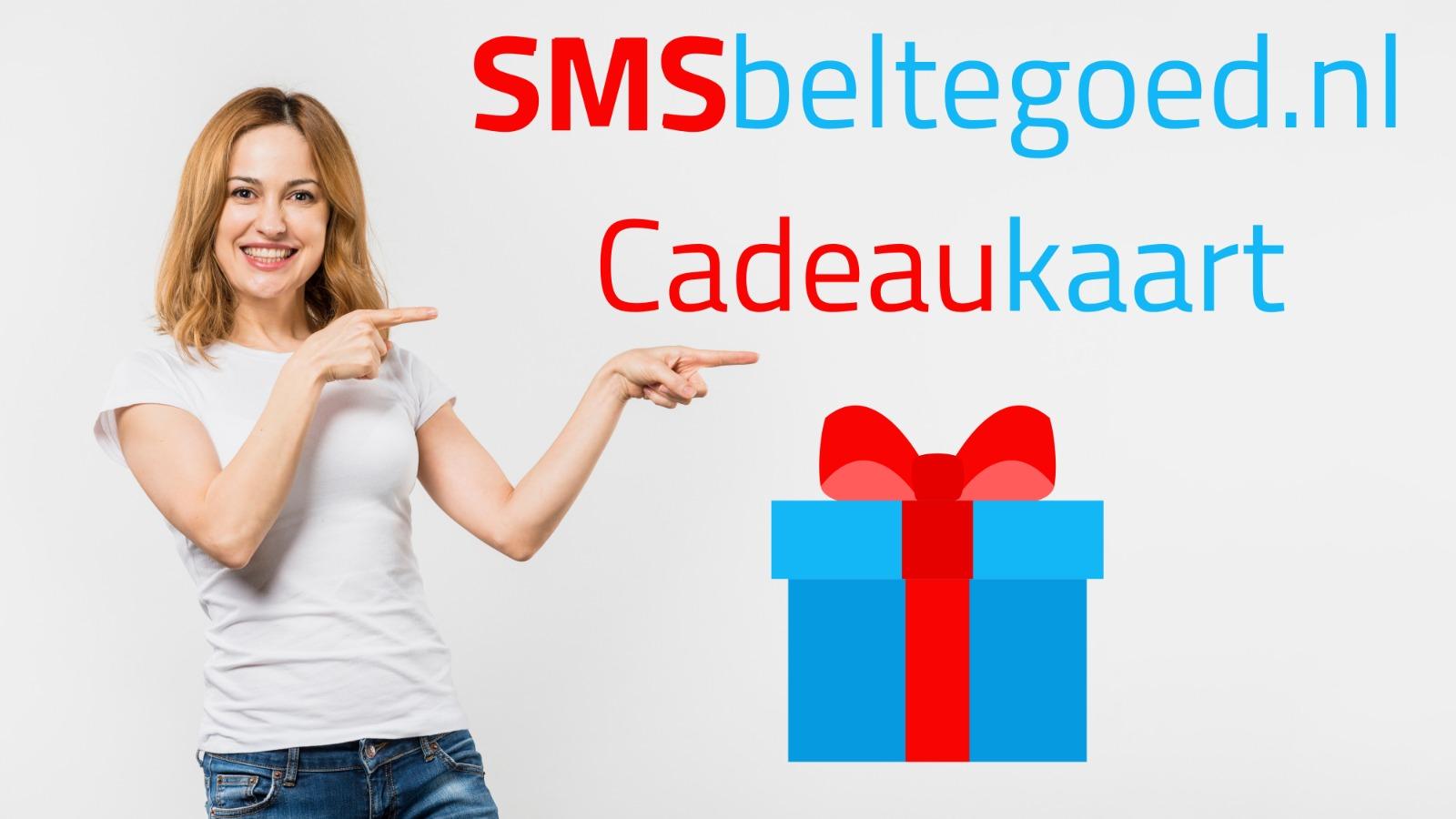 SMSBeltegoed cadeau bon