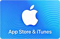 App Store & iTune Card van €10