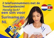 Sim Only Prepaid  Telesur Simkaart NL/Suriname