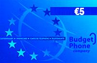 Budget €5