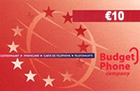 Budget €10