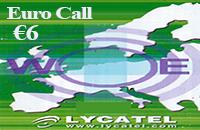 Euro call € 6